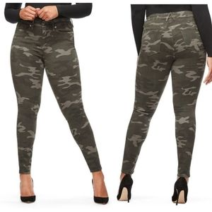 Good American Good Legs Camo Skinny Jeans
